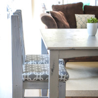 How to Reupholster a Chair Seat: The No-Mess Method