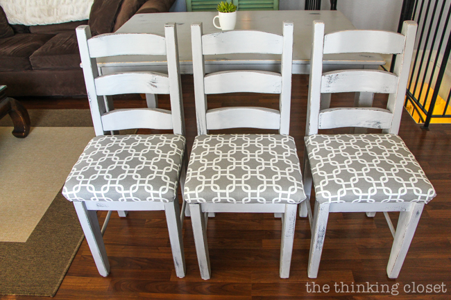 How to Reupholster a Dining Chair Seat DIY Tutorial — the