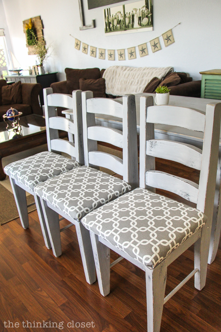 Perfect How To Reupholster A Dining Chair Seat: DIY Tutorial Full Of Tips And  Tricks.