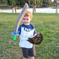 The Warrior Dash: Toddler Obstacle Course