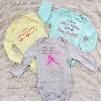 3 Creative Onesies for Baby Girl & Heat Press Giveaway!