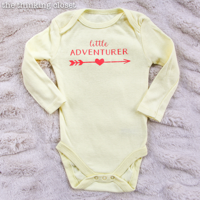 d61eff82b 3 Creative Onesies for Baby Girl   Heat Press Giveaway! - the ...