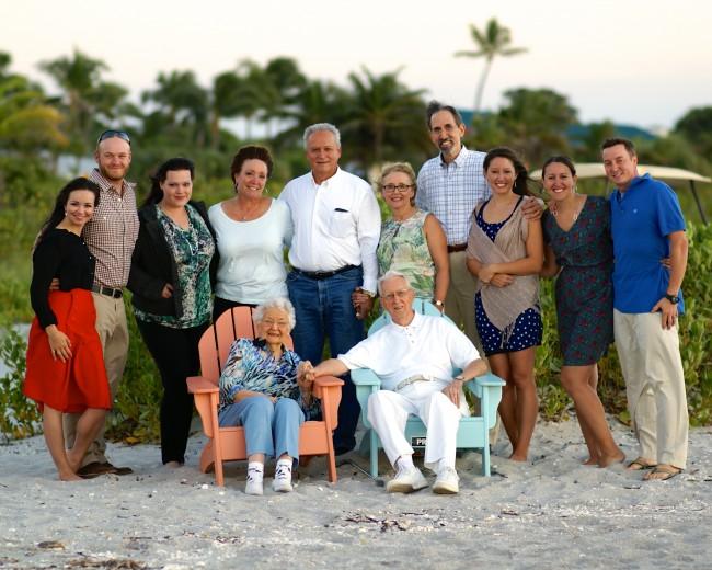 The Cathey Family Reunion on Captiva Island, 2013