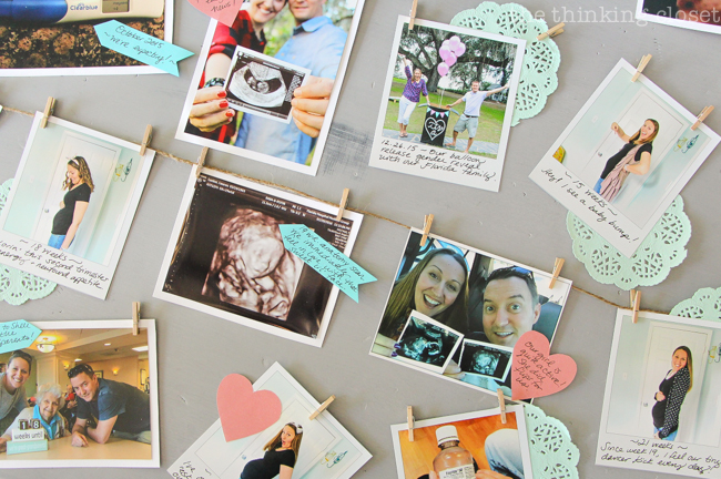 Pregnancy Timeline Photo Banner The Thinking Closet