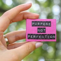 A Year of Pursuing Purpose (not Perfection): I Can't Do It Alone