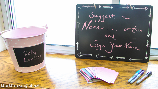 """Cute as a Button"" Baby Shower 