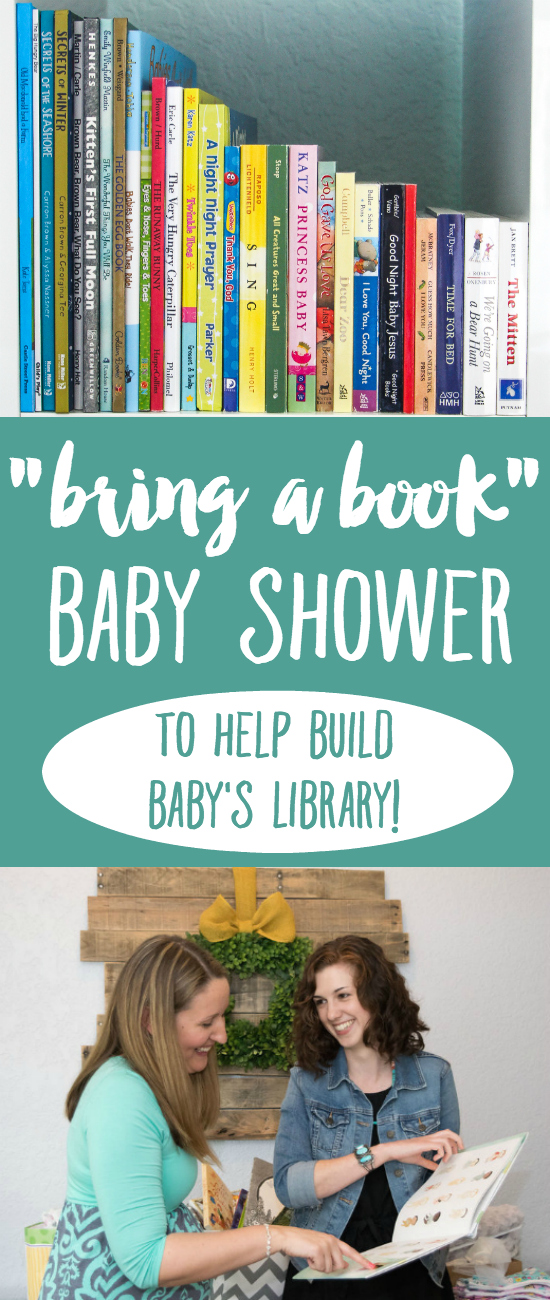 Bring a book baby shower the thinking closet bring a book baby shower a creative way to help build babys library filmwisefo