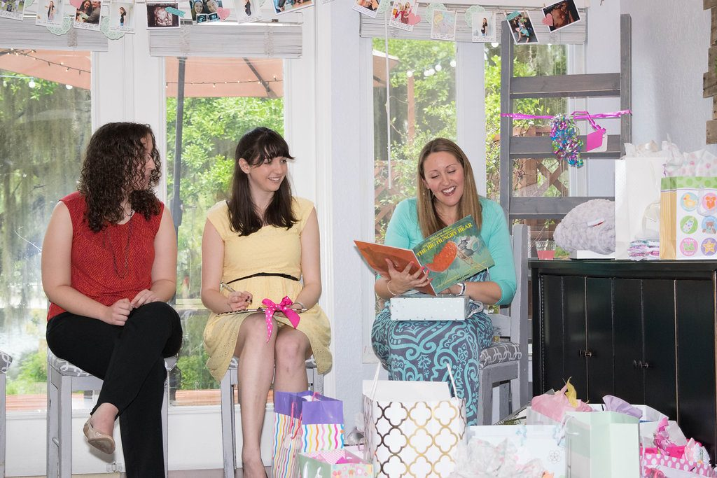 """Bring a Book"" Baby Shower 