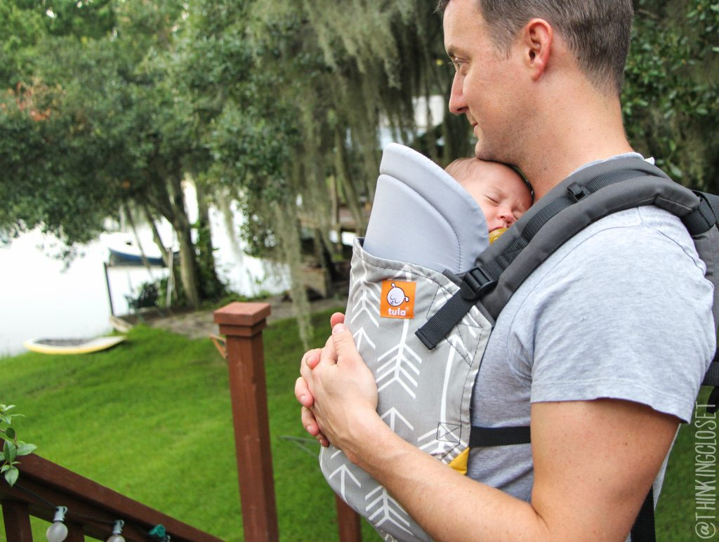 Baby-Wearing Dad & Daughter | Tula in the Wild!