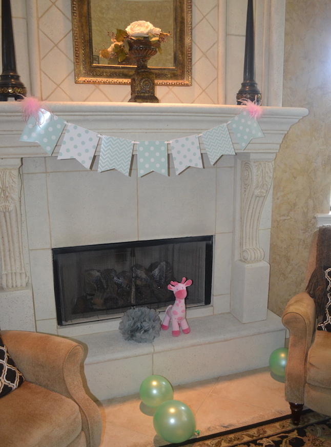 Charming Mint U0026 Gray Baby Shower   Inspiration For Planning A Meaningful Baby  Shower For A