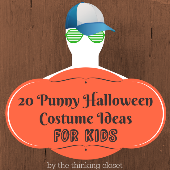 20 Punny Halloween Costume Ideas for Kids, Babies, Multiples, Fur-Babies, & Families! | An epically awesome round-up of literal interpretations of the word as portrayed by precious kiddos! As if a punny costume wasn't already awesome, now it's got the cute-factor! Plus, there are some great last-minute Halloween costume ideas in this mix. Brace yourself!