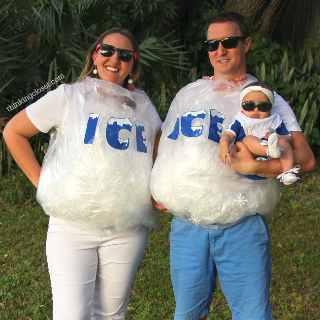 Ice Ice Baby  Punny Halloween Costume for a Family of 3! The step u2026  sc 1 st  The Thinking Closet & Ice Ice Baby