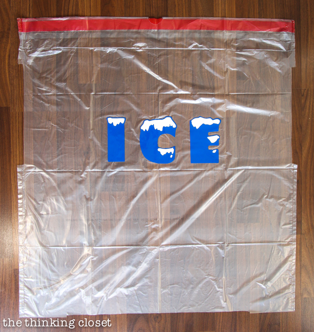 """Ice Ice Baby"" Punny Halloween Costume for a Family of 3! The step by step DIY tutorial for how we created our creative punny Halloween costumes...plus plenty of hilarious outtakes from our 5th annual photo shoot!"