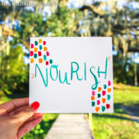 My One Word for 2017 & A Busy Gal's Strategy for Taking Action! | Here's the word that chose me (better late than never), the goal-setting it inspired, and how I plan to tackle those goals despite having less margin than ever before.... Let's do this!