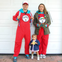 """Stranger Things"" Punny Halloween Costume for the Family"