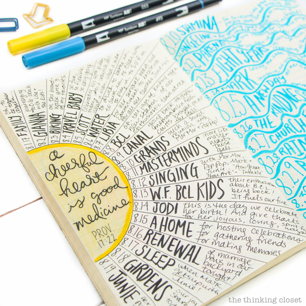 "5 Bullet Journaling Myths...Debunked! For anyone on the fence with bullet journaling who feels like ""I'm not creative enough"" or ""I don't have enough time"" or ""I wouldn't know where to start!""...this is the post that is going to empower you to dive into bullet journaling headfirst. Right. Now."