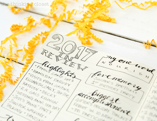 One Important Thing Before We Take on a New Year - the thinking closet