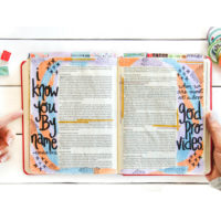Journaling Bible Flip-Through Video of the Gospel of John
