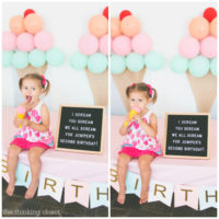 Ice Cream Themed Birthday Party: DIY Decor Ideas