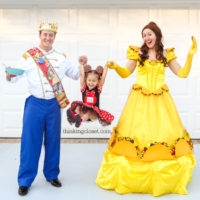 Disney-Themed Punny Halloween Costumes for the Family