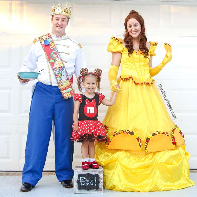 e53d1f8c4 Disney-Themed Punny Halloween Costume for a Family of 3! Introducing